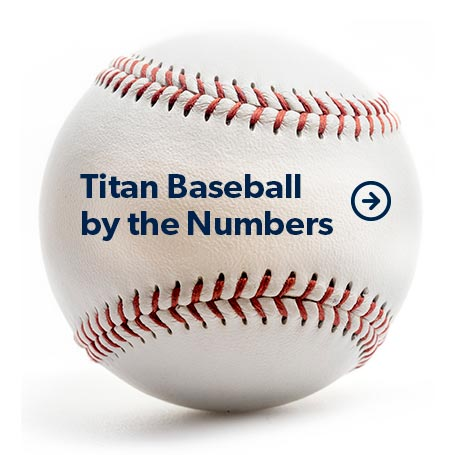 Titan Baseball by the Numbers